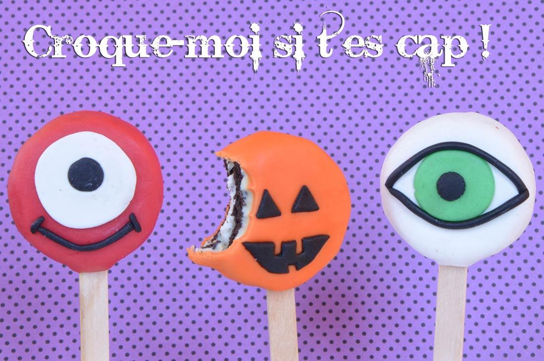 biscuits oreo halloween par Turbigo Gourmandises