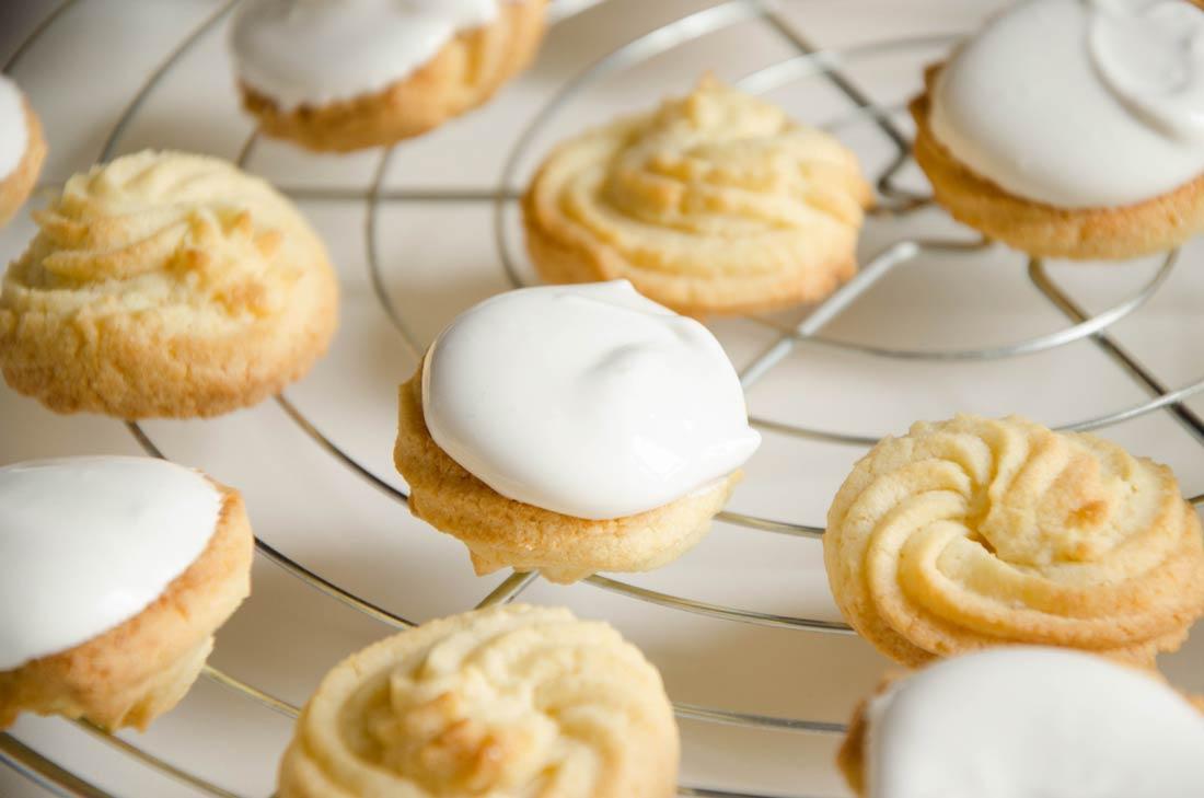 recette de biscuits spritz à la vanille