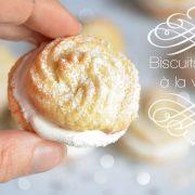 Biscuits spritz à la vanille