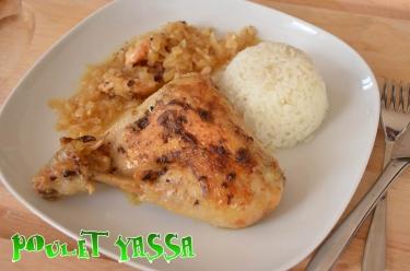 recette de poulet yassa