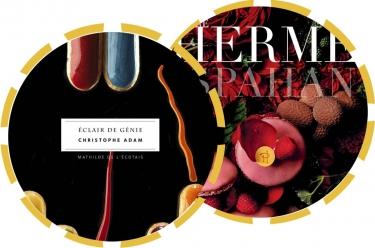sélection cadeaux : éclair de génie de Christophe Adam et Ispahan de Pierre Hermé