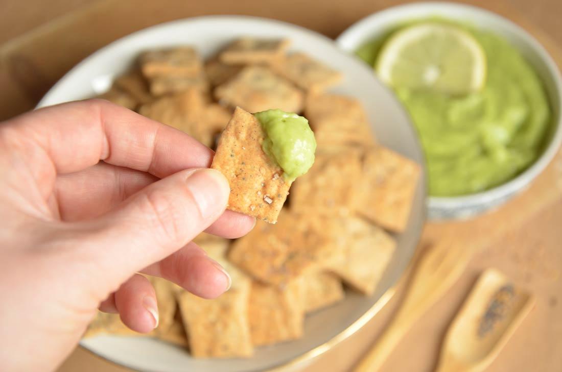 Délicieuse et facile recette de crackers au sarrasin