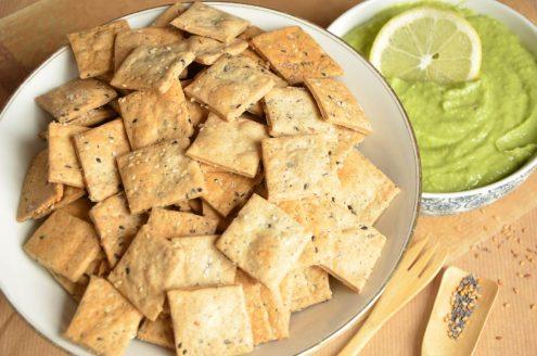 Recette de Crackers au sarrasin et aux graines