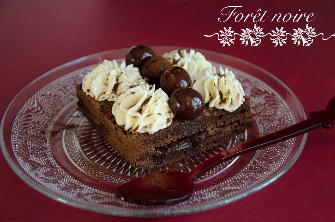 Forêt Noire, un dessert de Guy Darcel