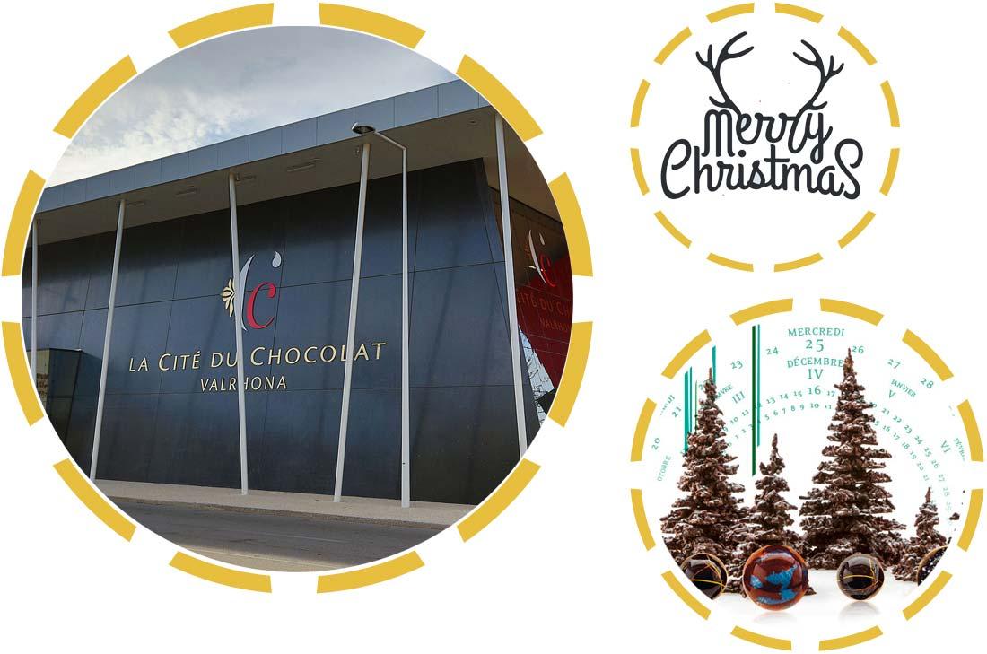 La cité du chocolat Valrhona et des chocolats Patrick Roger