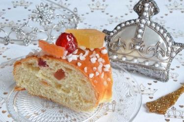 Brioche des Rois aux fruits confits
