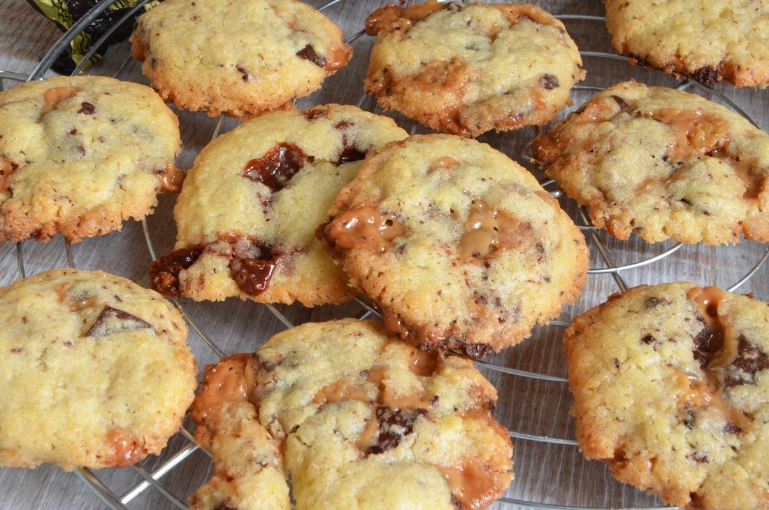 Cookies au Michoko ou au Carambar