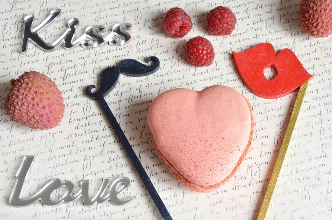 Macarons Ispahan rose litchis et framboises de Pierre Hermé