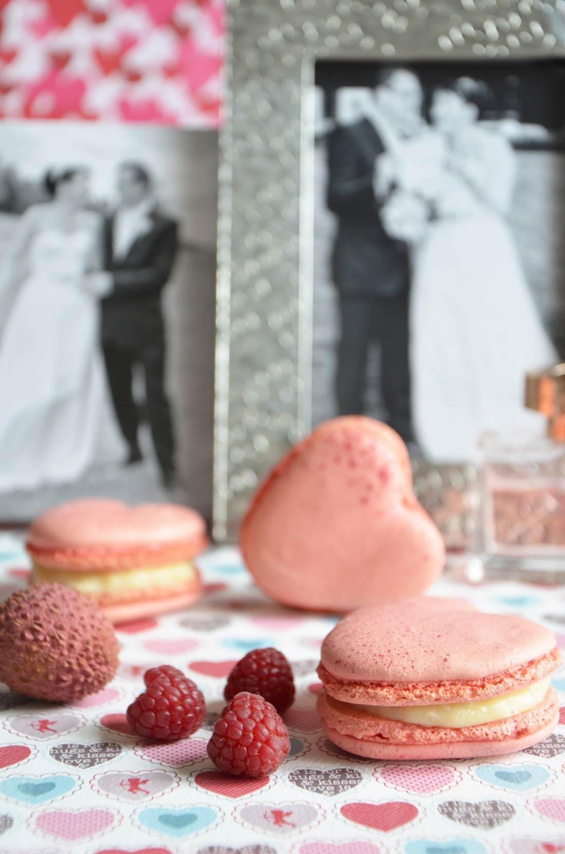 Macarons Ispahan de Pierre Hermé pour la Saint Valentin
