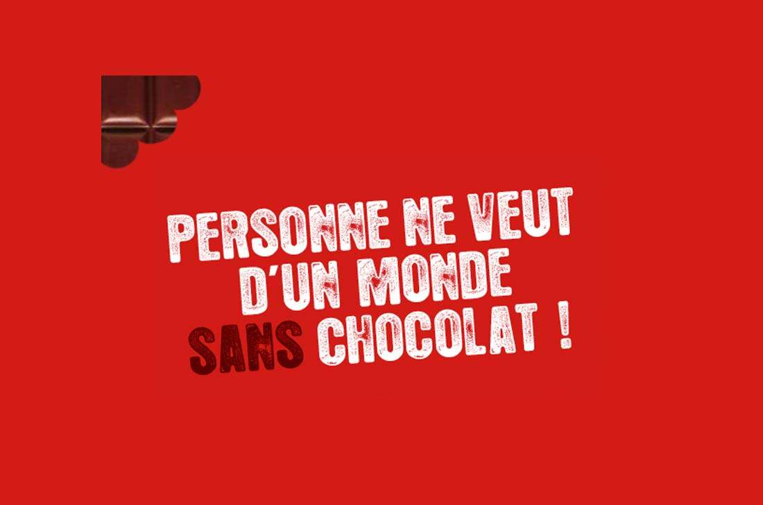 un monde sans chocolat