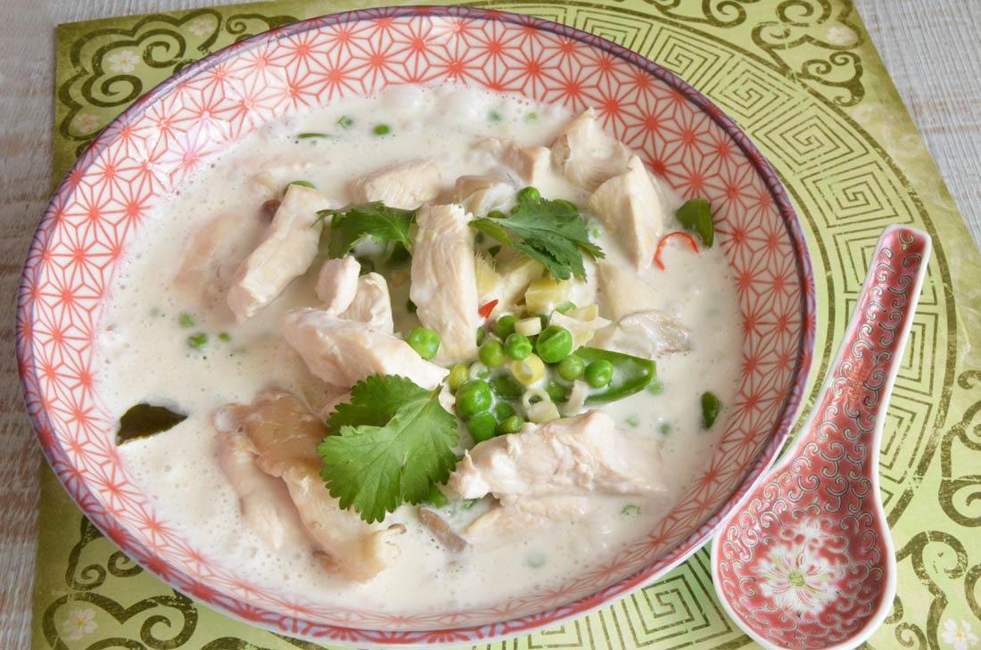 Tom Kha kai, cuisine thaïlandaise