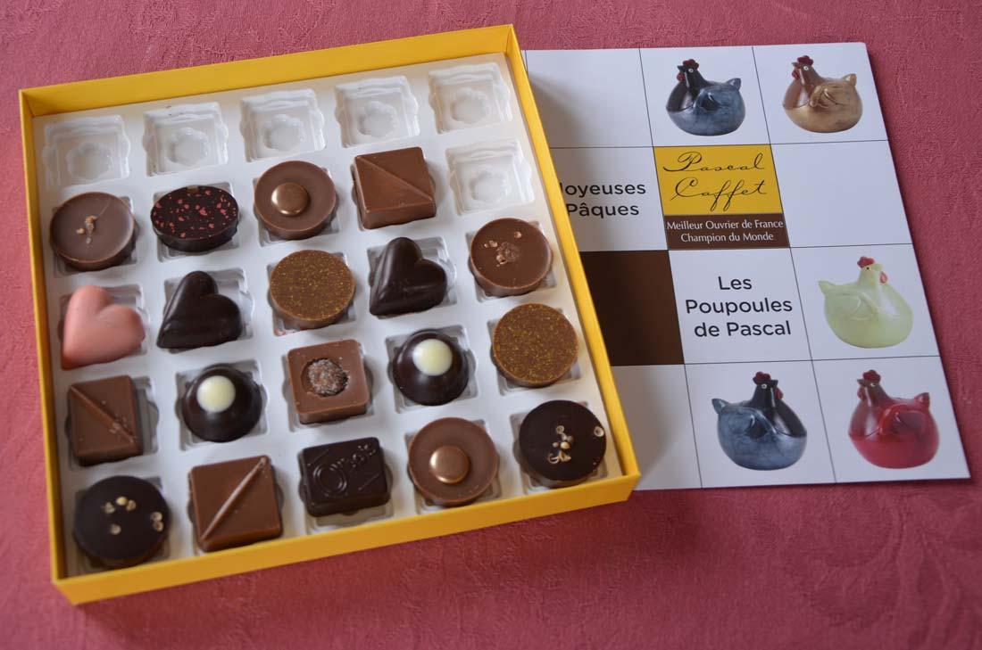 Chocolats de Pascal Caffet