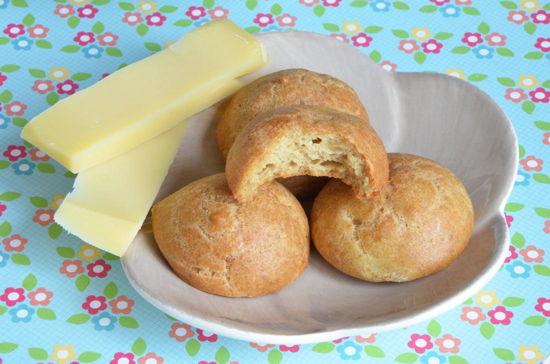 recette de gougères au comté sans gluten