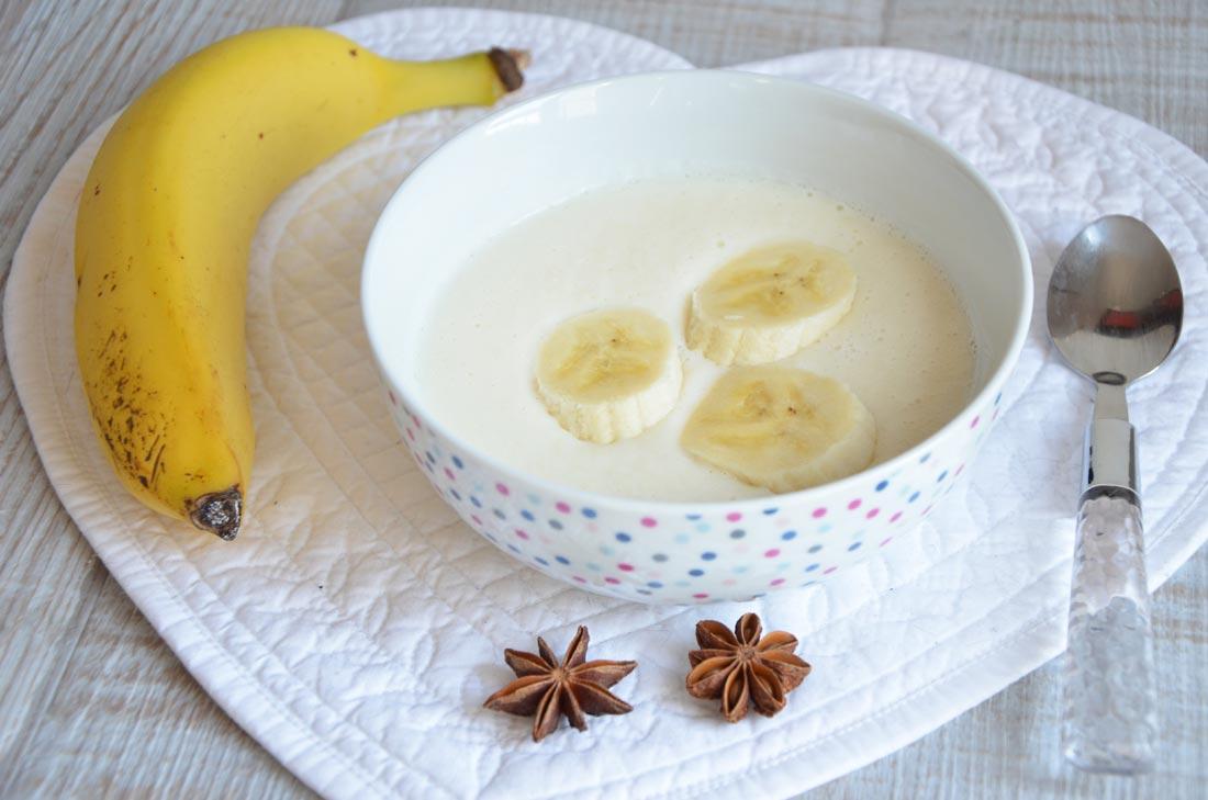 recette de Soupe de céleri rave badiane et banane