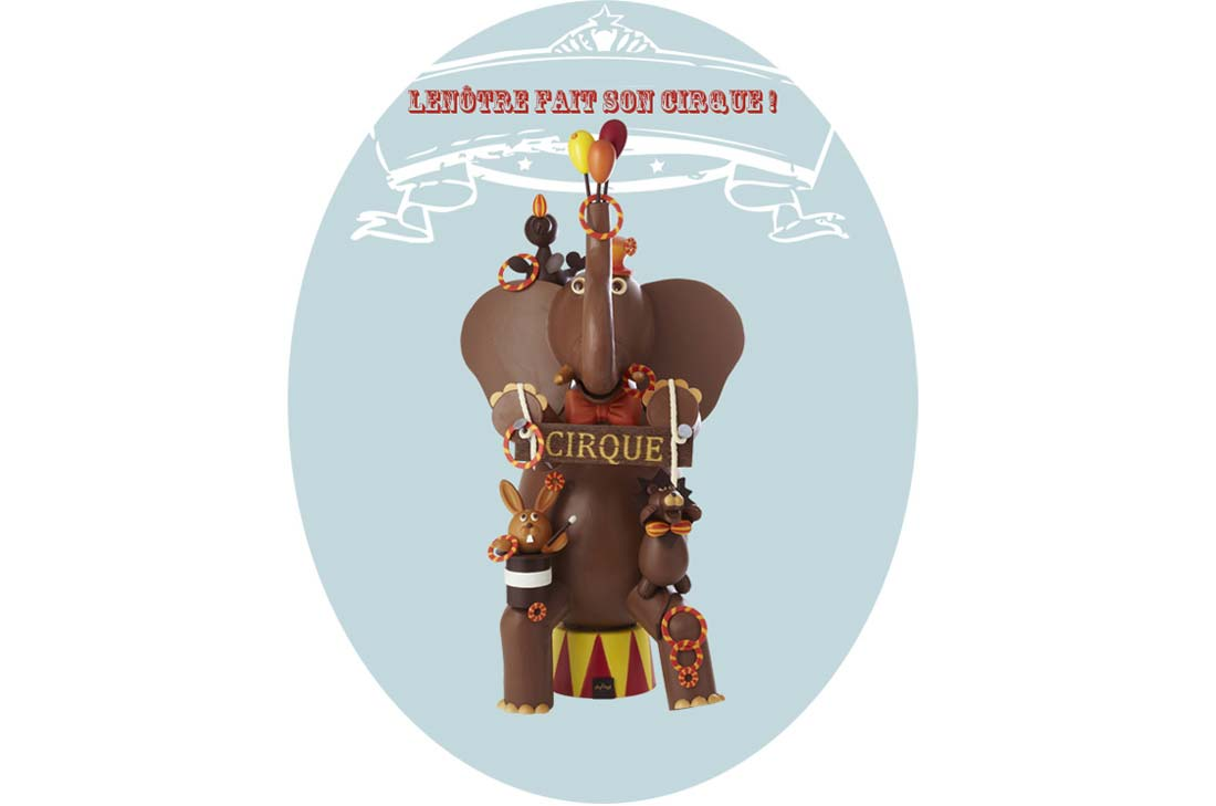 sélection de Pâques 2014 : Lenôtre circus