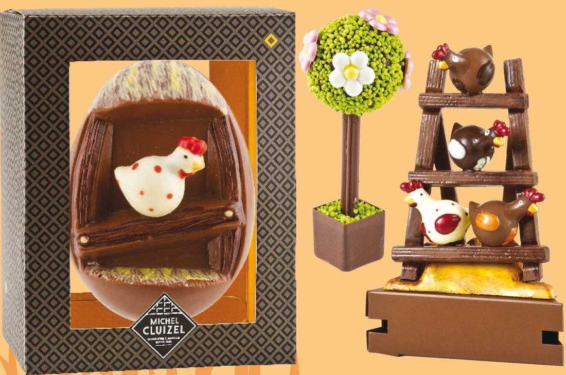 Chocolats de Pâques 2014 Michel Cluizel