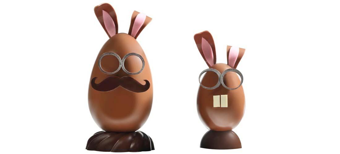 chocolats de Pâques Christophe Roussel