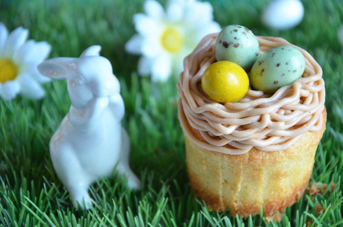 délicieux cupcakes de Pâques