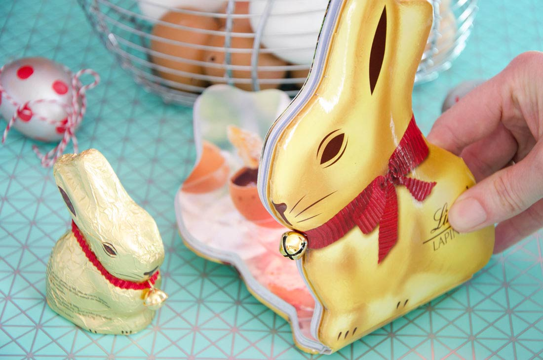 Livre lapin Lindt Or