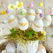 oeufs de caille mimosa pour Pâques
