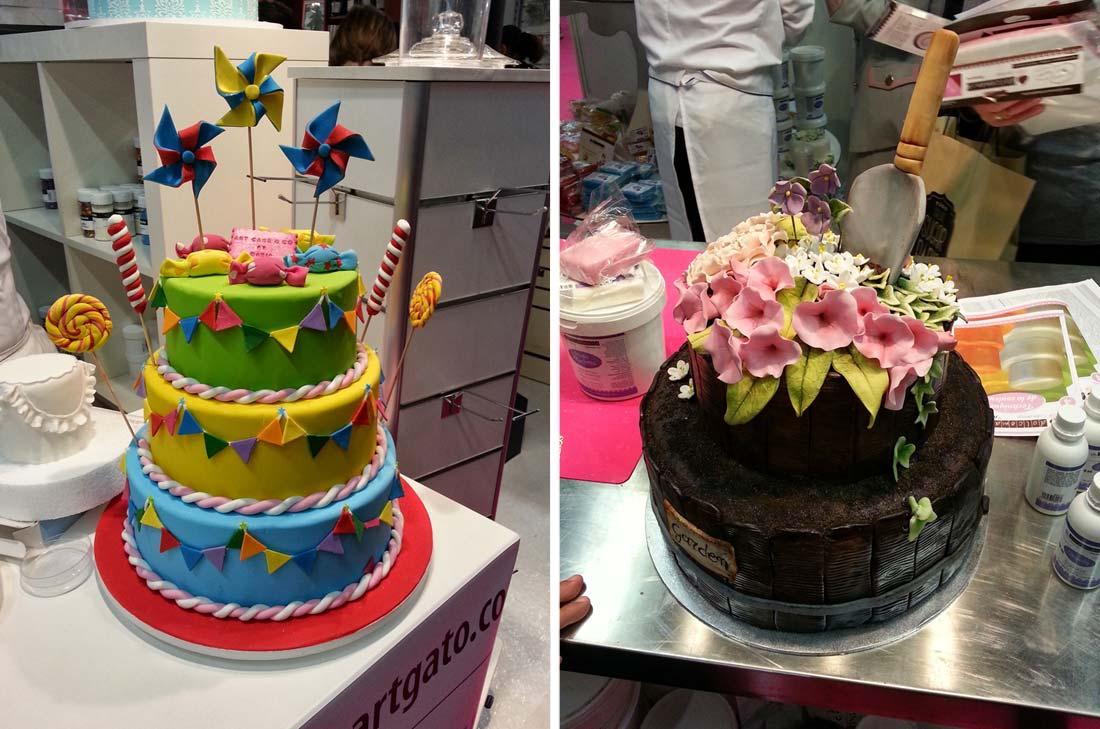 gâteaux au Salon Sugar Paris