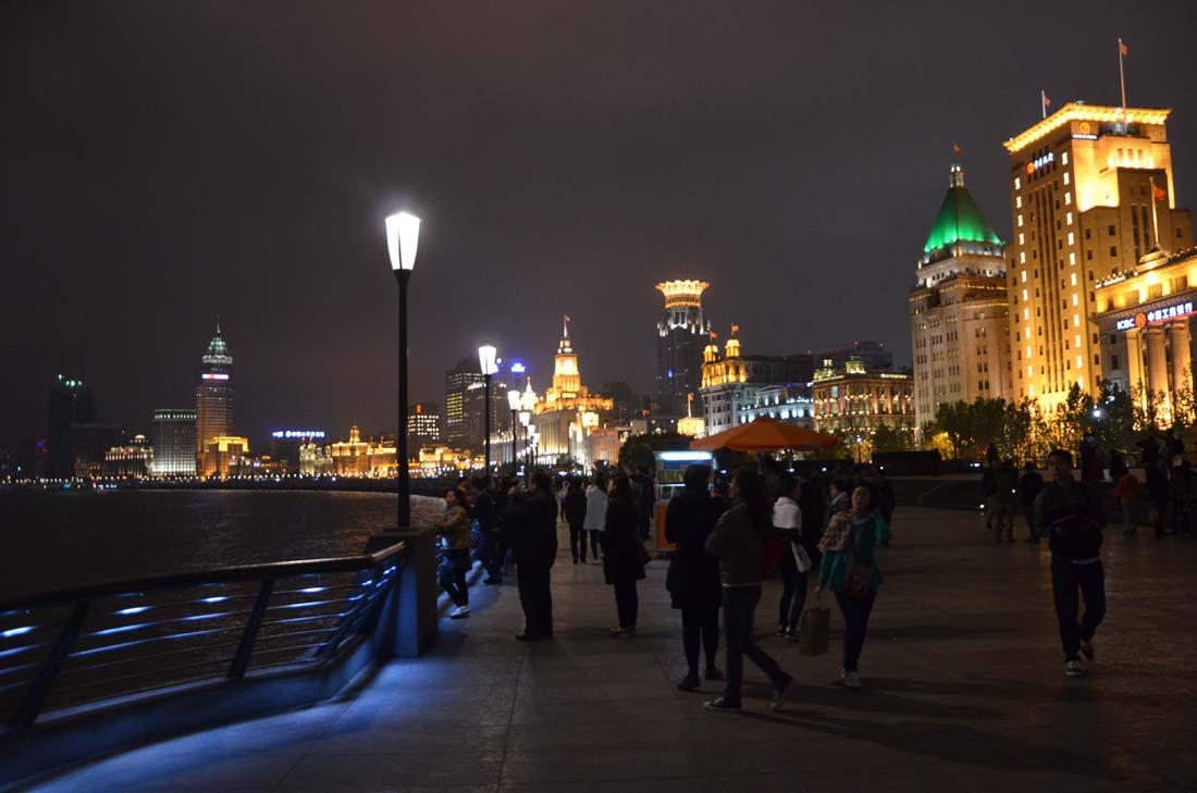 quartier du Bund à Shanghai