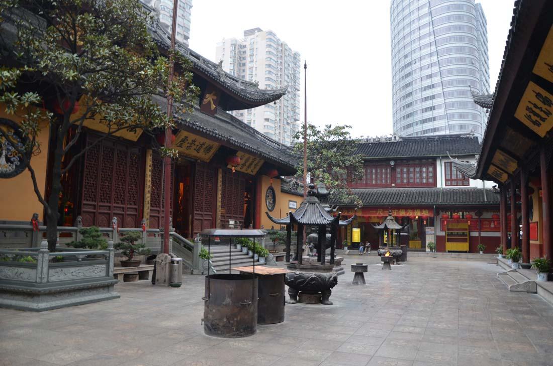 temple du bouddha de Jade à Shanghai