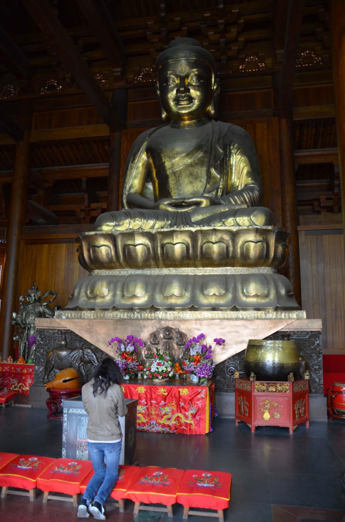 buddha du Temple Jing'an