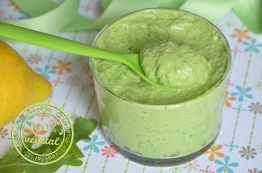 mayonnaise végétale au soja
