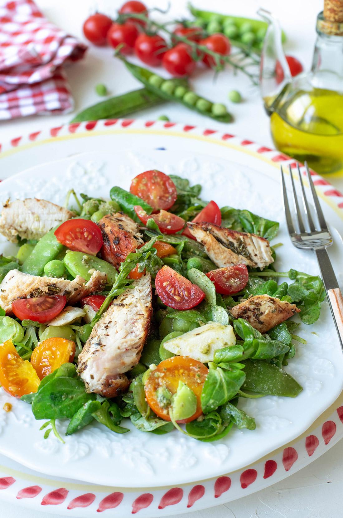 salade de poulet à l'italienne