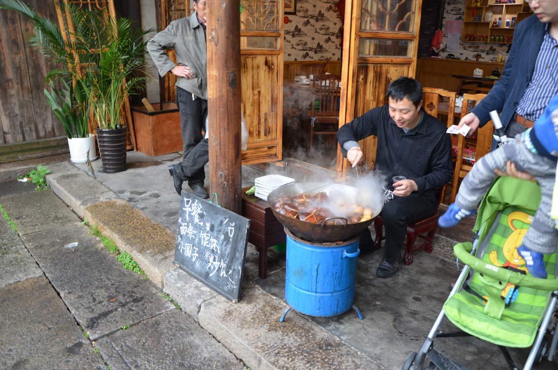street food en chine
