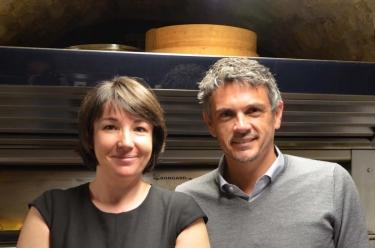 Sophie Seïté et et Christophe Adam