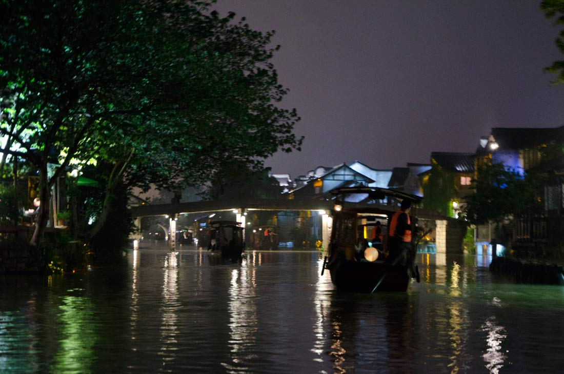Wuzhen de nuit