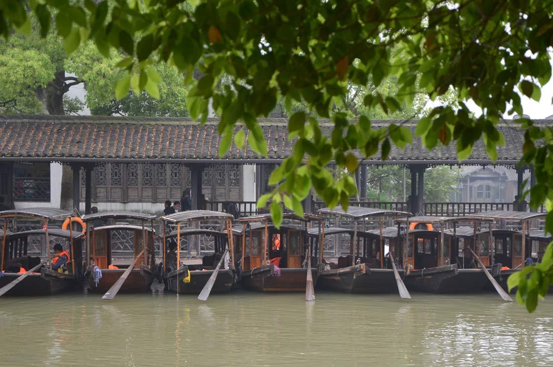bateaux à Wuzhen
