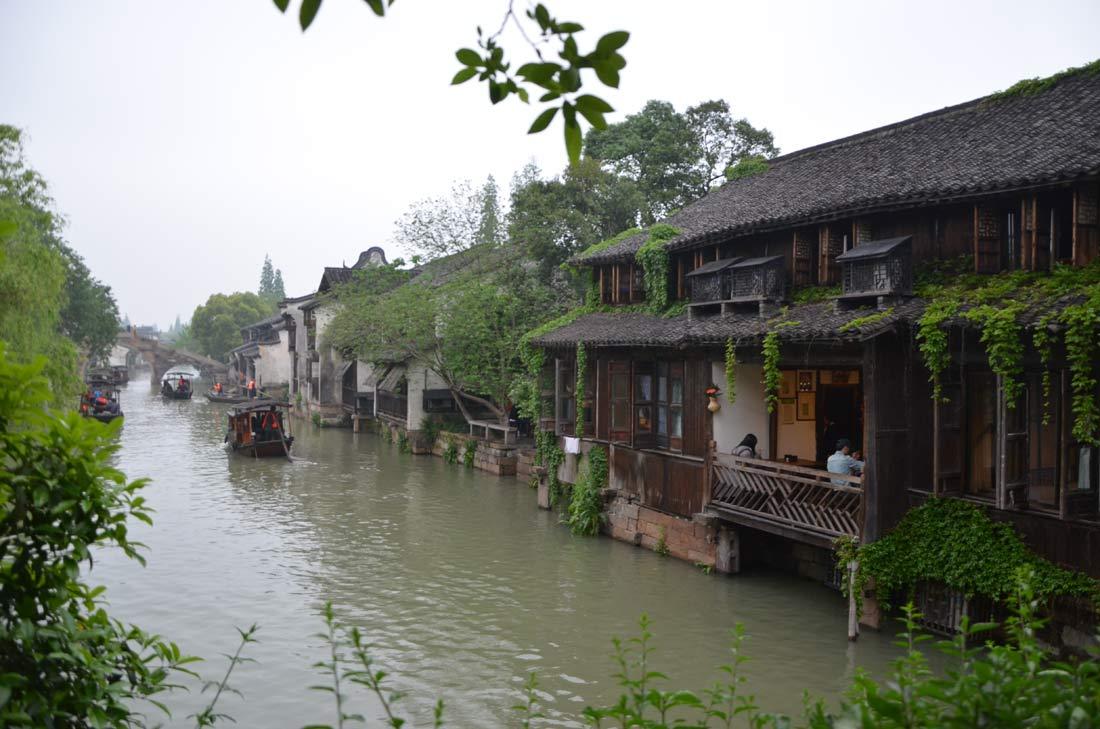 wuzhen ville d'eau en Chine