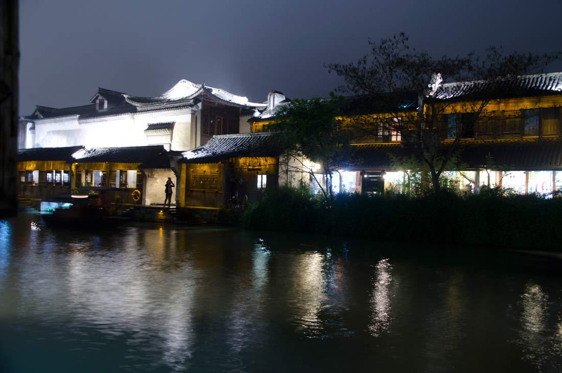 Wuzhen la nuit