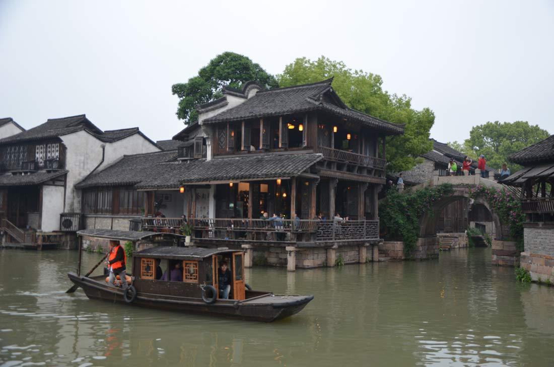 ville d'eau chinoise de Wuzhen