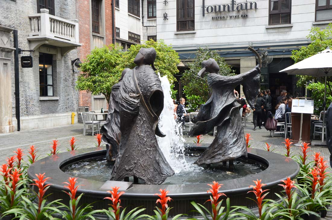 Xian tian di, nouveau quartier de Shanghai