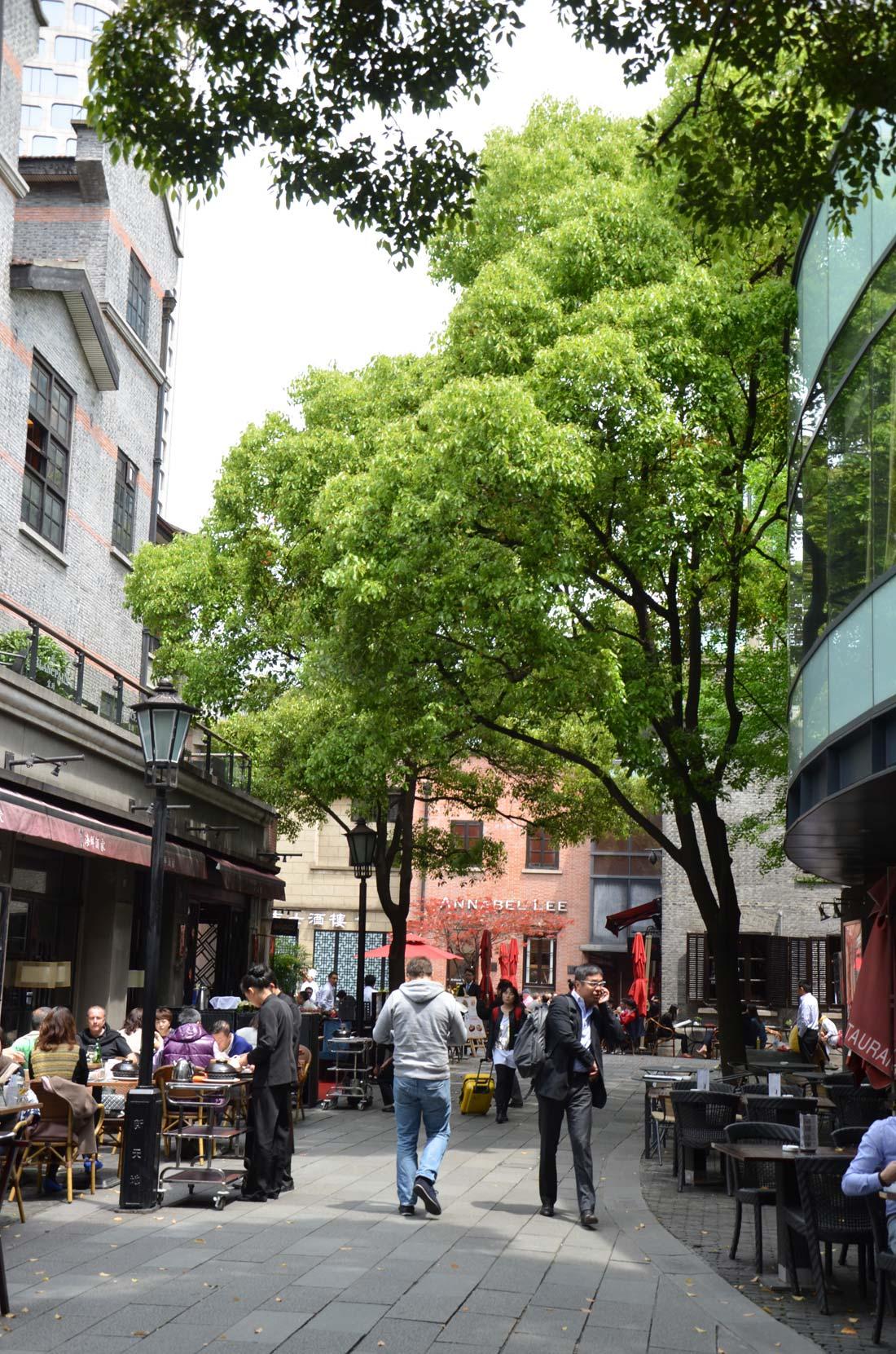 Xian tian di, quartier neuf de Shanghai