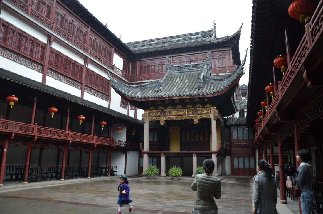 théâtre en plein air du Yu Garden