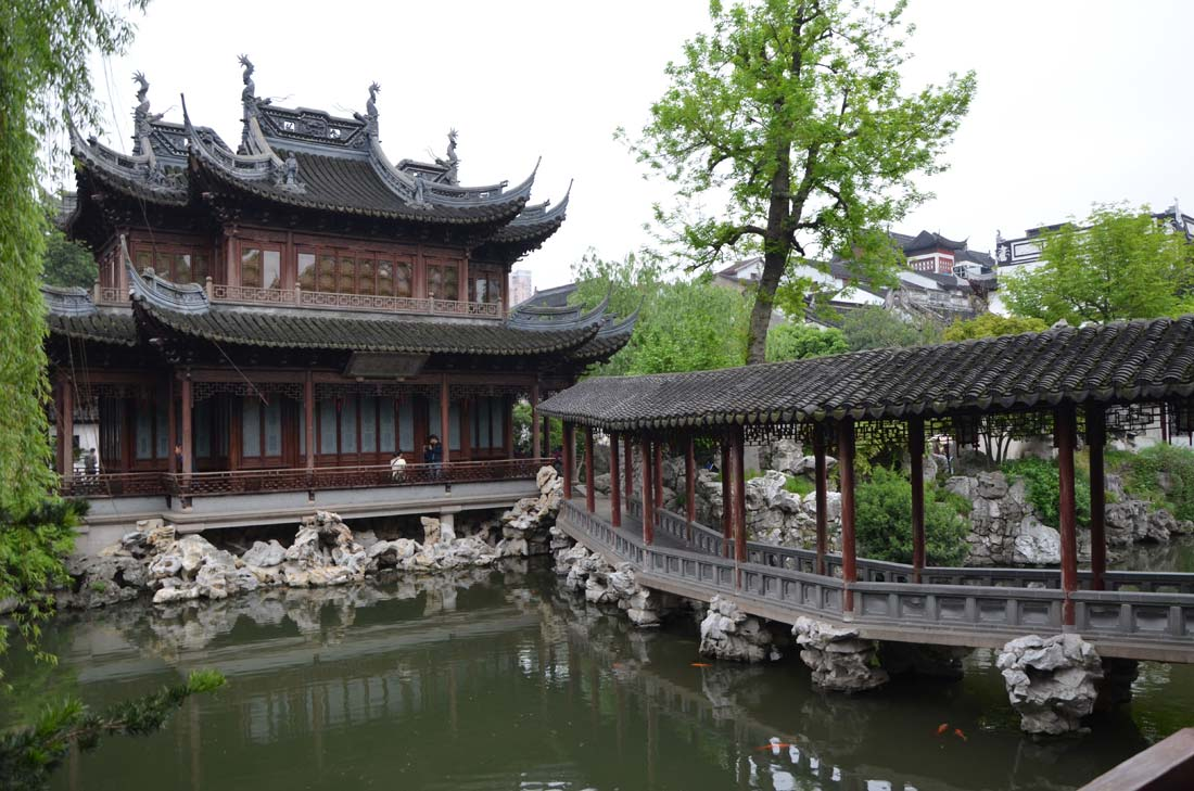 Le Yu garden à Shanghai