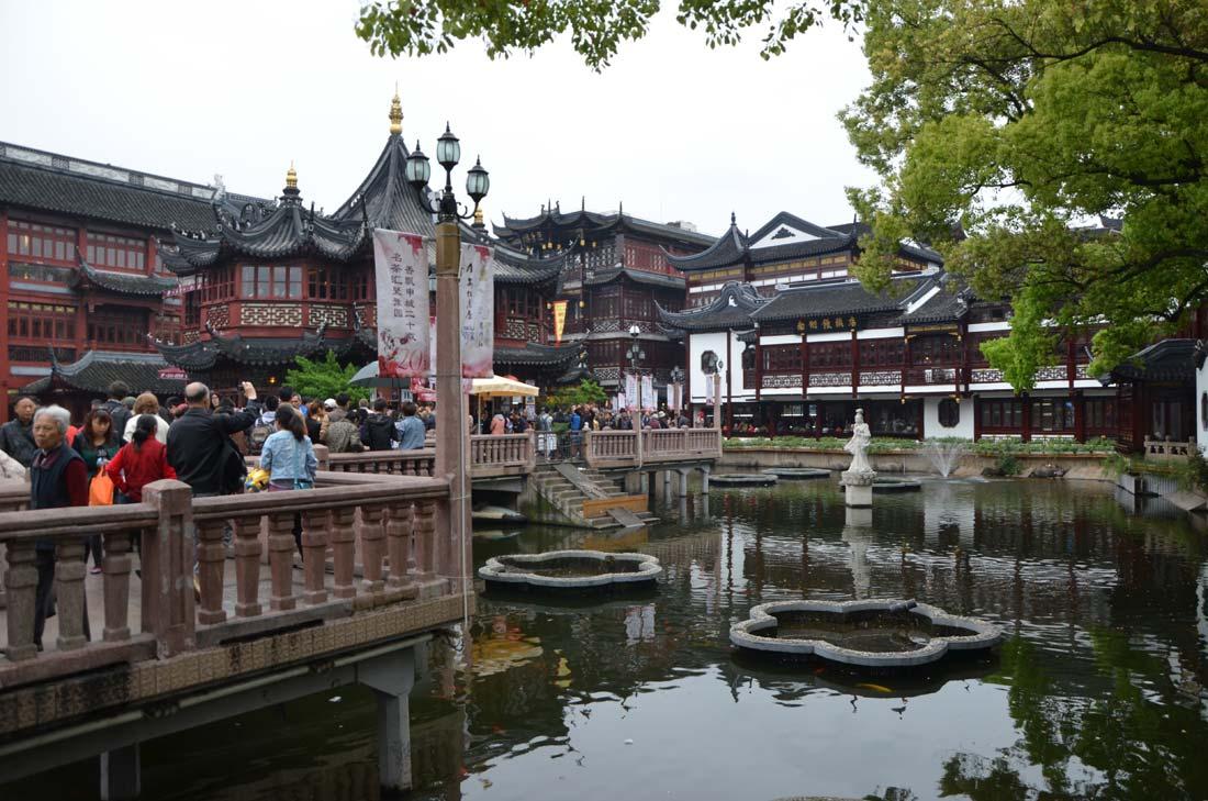 quartier yuyuan à Shanghai