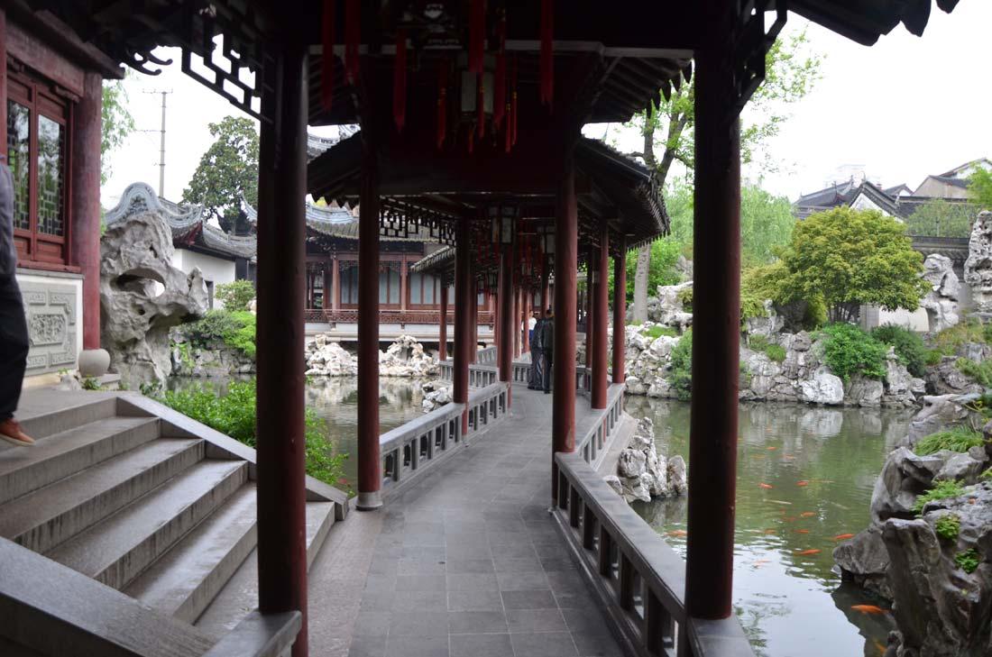le jardin Yu à Shanghai