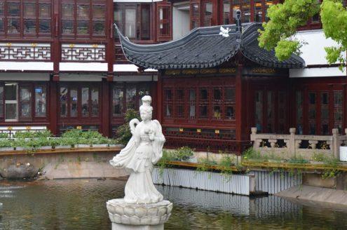 Yu garden à Shanghai