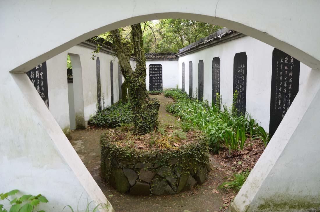 forêt de pierres à Moganshan