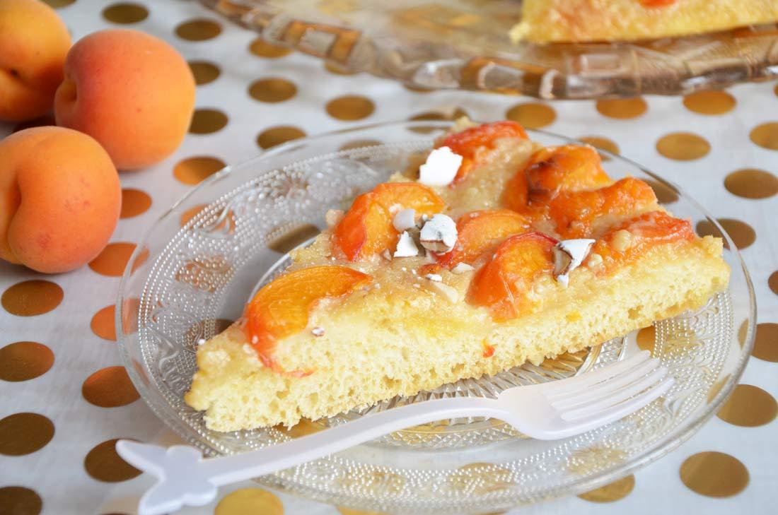 part de pizza briochée abricots dragées