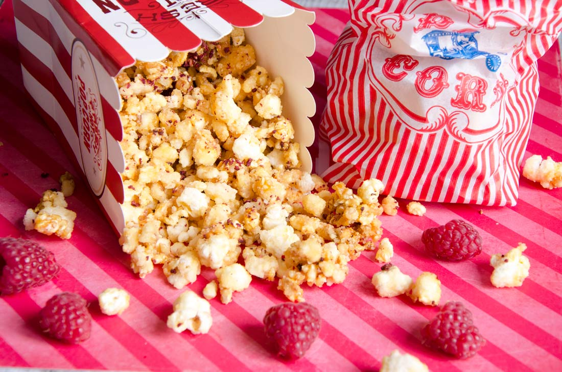 Girly pop-corn Pierre Hermé