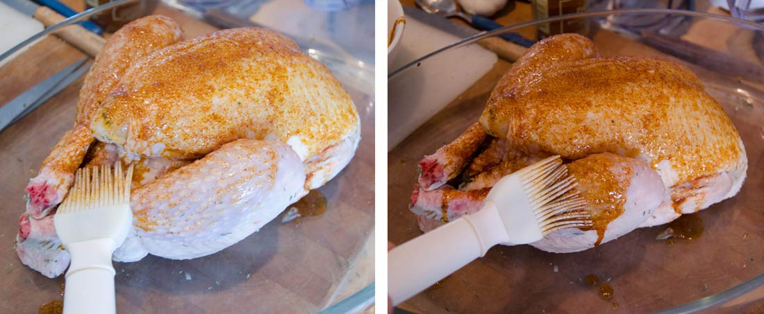 préparation poulet rôti Label Rouge