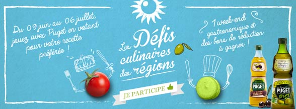 Application défis culinaires Puget