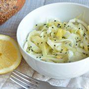 Salade de fenouil citron confit